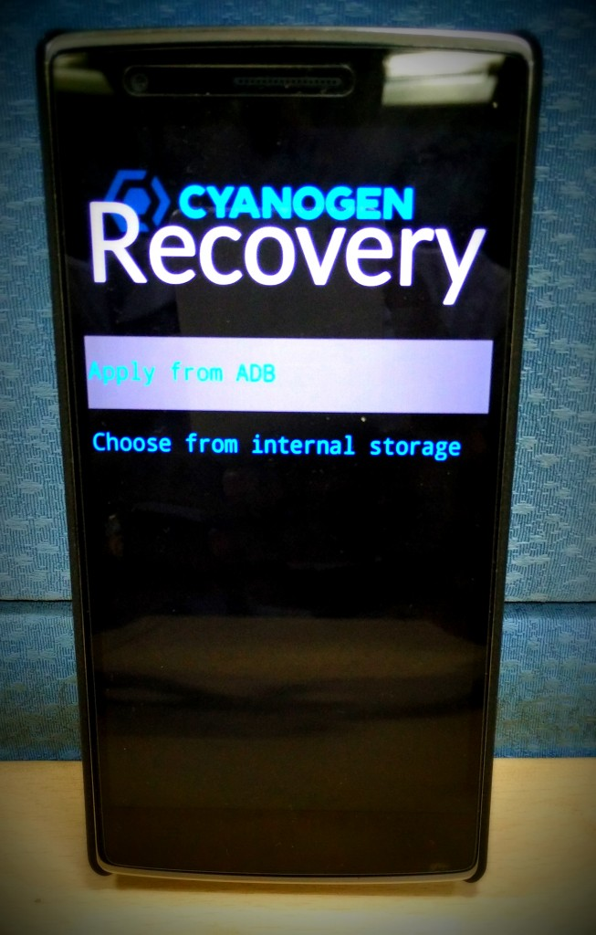 Recovery format data android