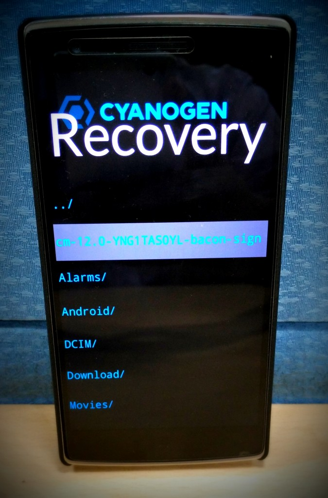 how to use cyanogenmod installer