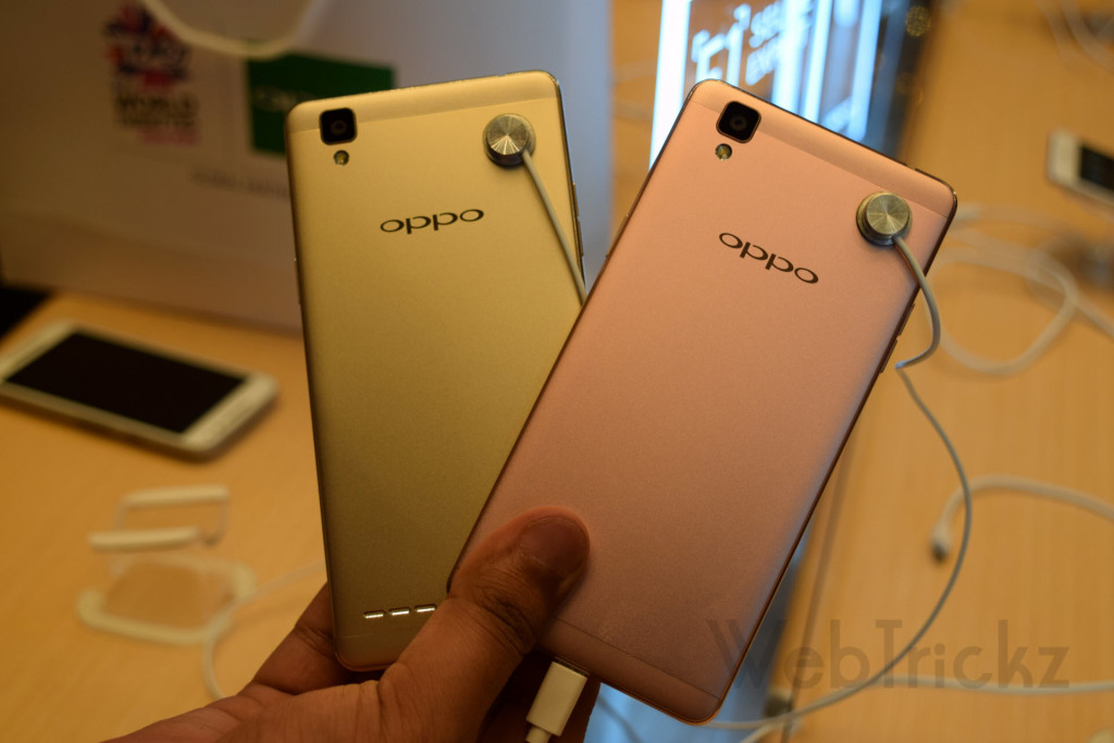 Golden and Rose Gold_Oppo F1
