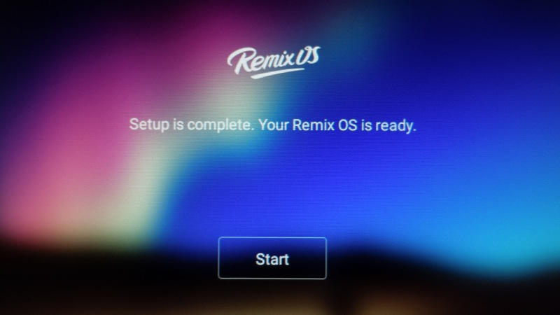 Remix OS for PC Beta