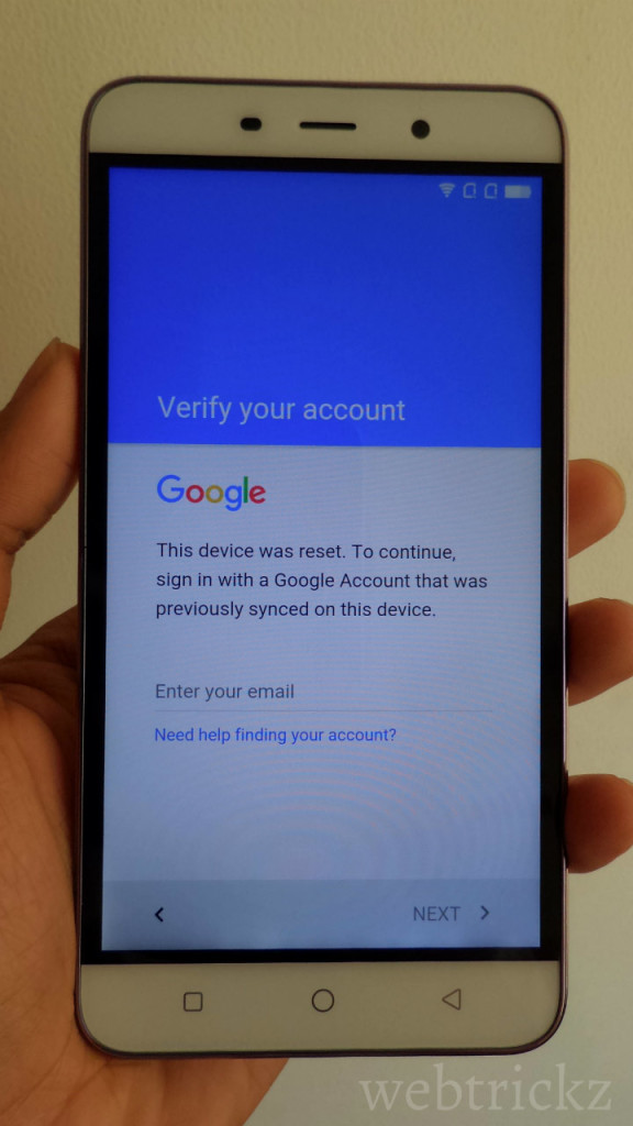 Bypass FRP on Coolpad Note 3