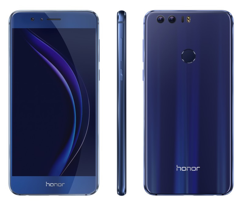 huawei honor 8 with 5 2 fhd display 12mp dual rear. Black Bedroom Furniture Sets. Home Design Ideas