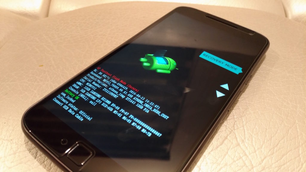 Moto G4 Plus_Bootloader