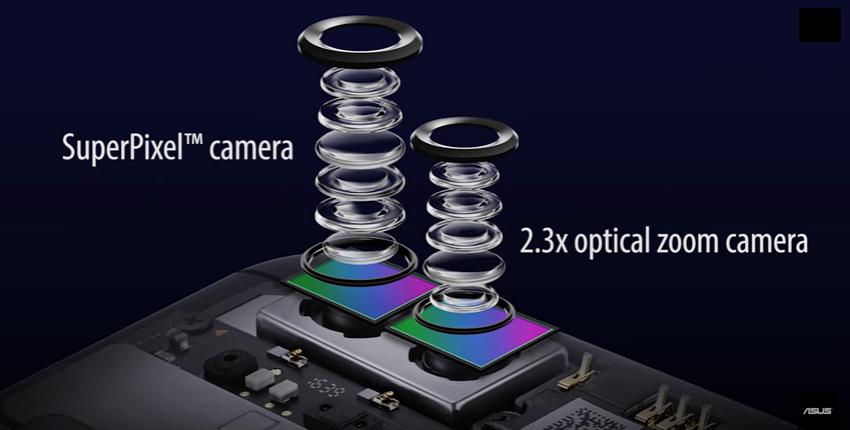 Zenfone 3 Zoom Dual rear cameras