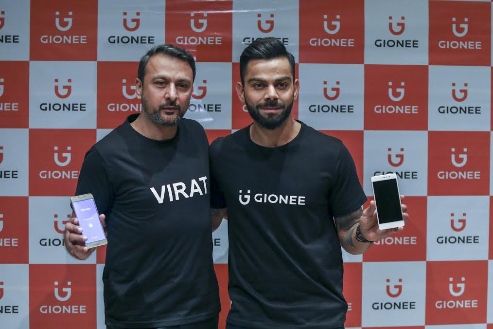 Gionee-Virat-Kohli-partnership-india