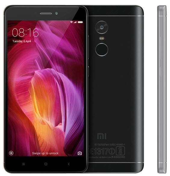 Redmi Note 4 Matte Black
