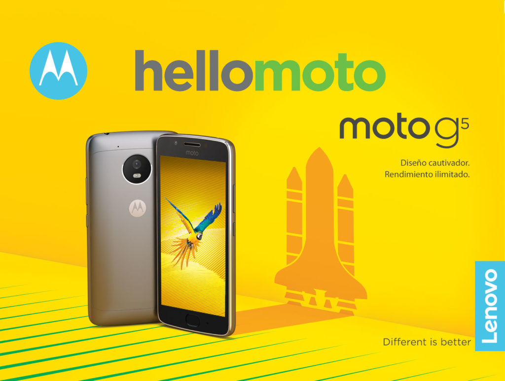 Moto G5 press image