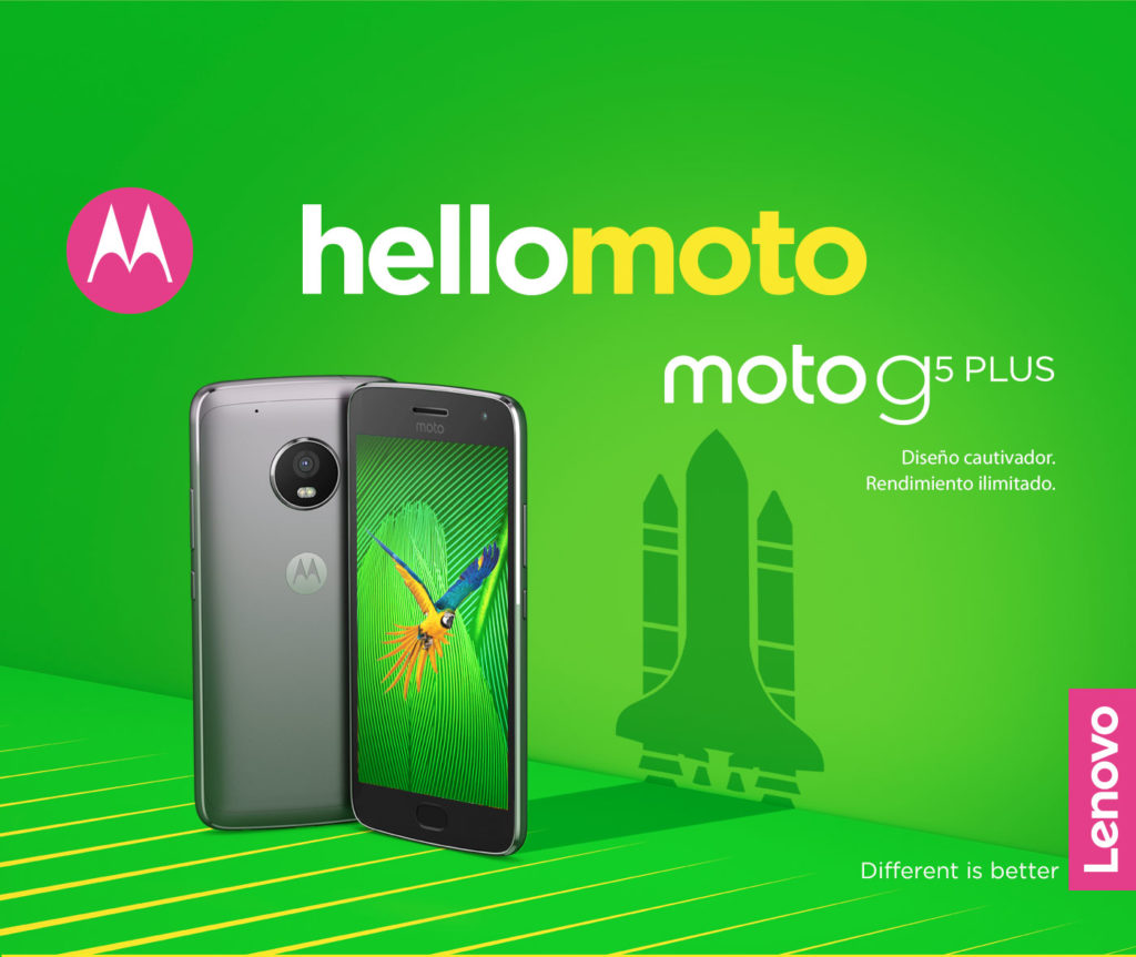 Moto G5 Plus Press image