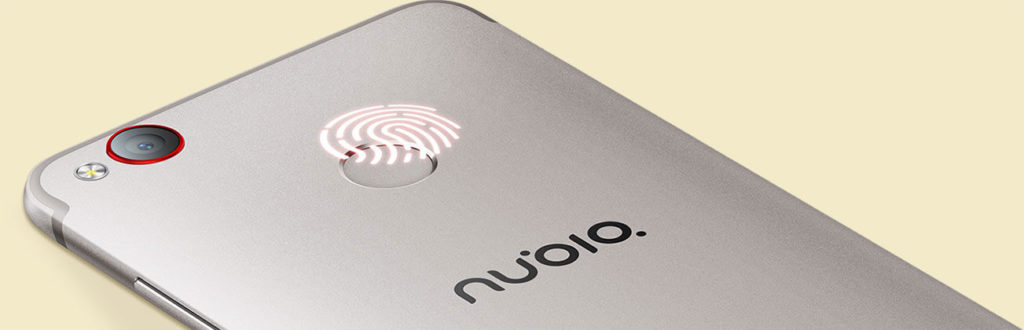 Nubia Z11 mini S Fingerprint sensor