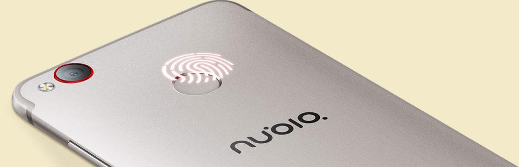 Nubia Z11 mini S Fingerprint sensor