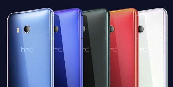 HTC U11 Colors