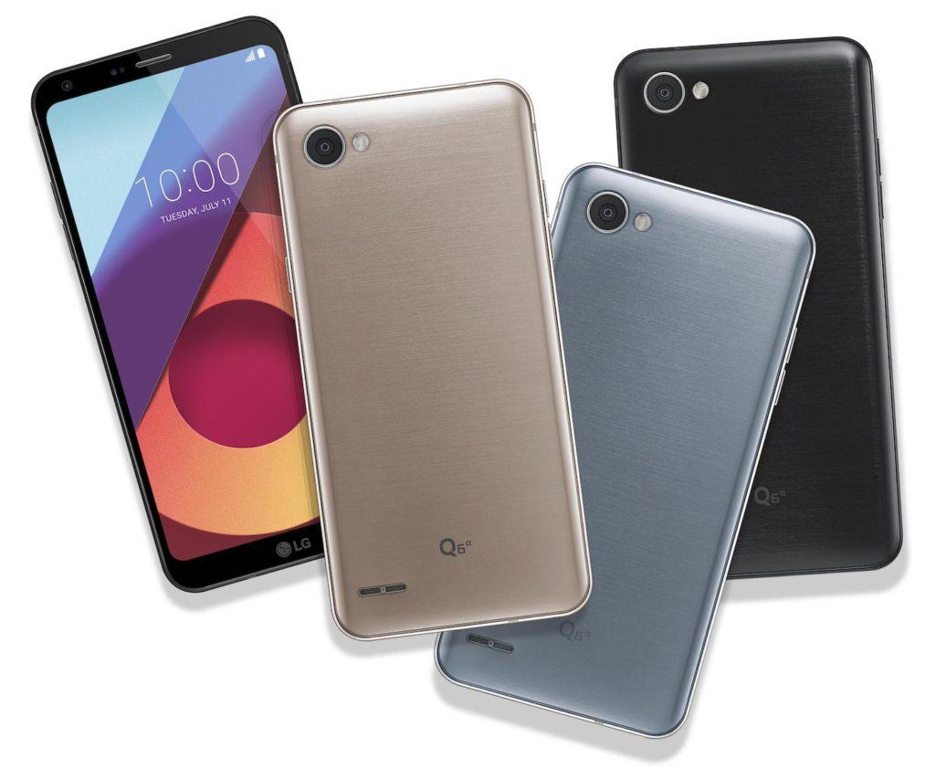 LG Q6 colours
