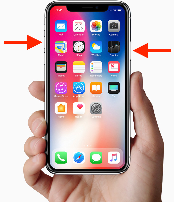 take screenshot on iphone how to take screenshots on iphone x without home button 16248