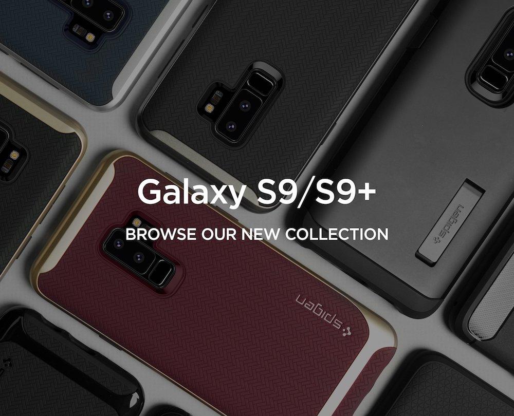Spigen cases for Samsung Galaxy S9/S9+