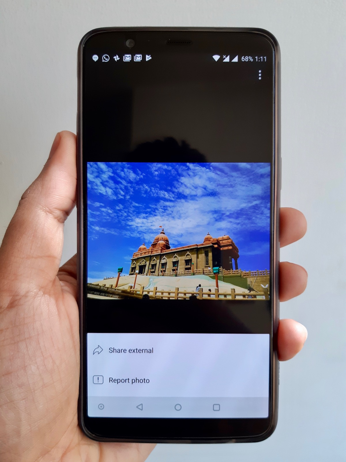 how to delete photos from facebook app on android
