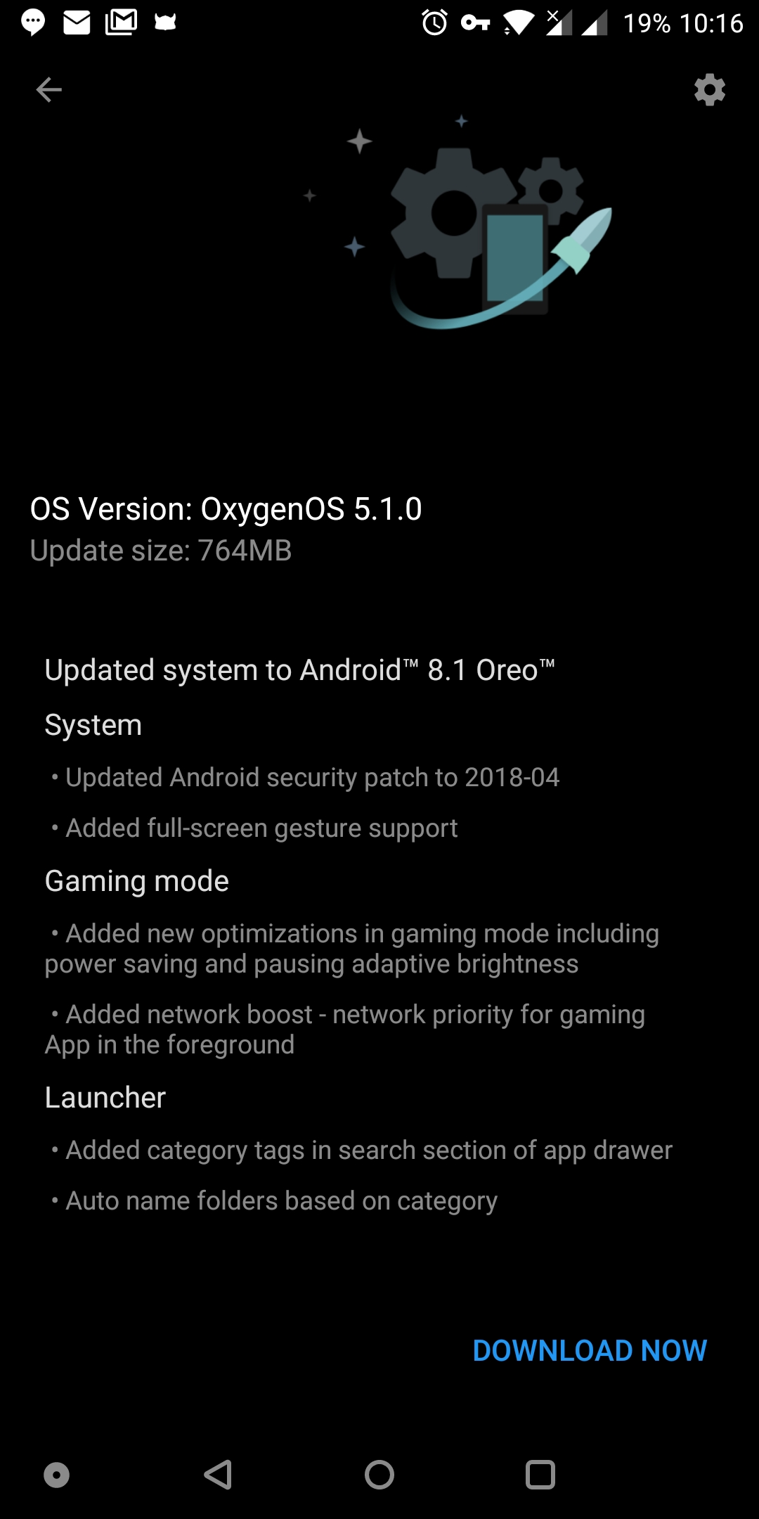 OxygenOS 5 1 0 update brings 'Swipe up to answer calls