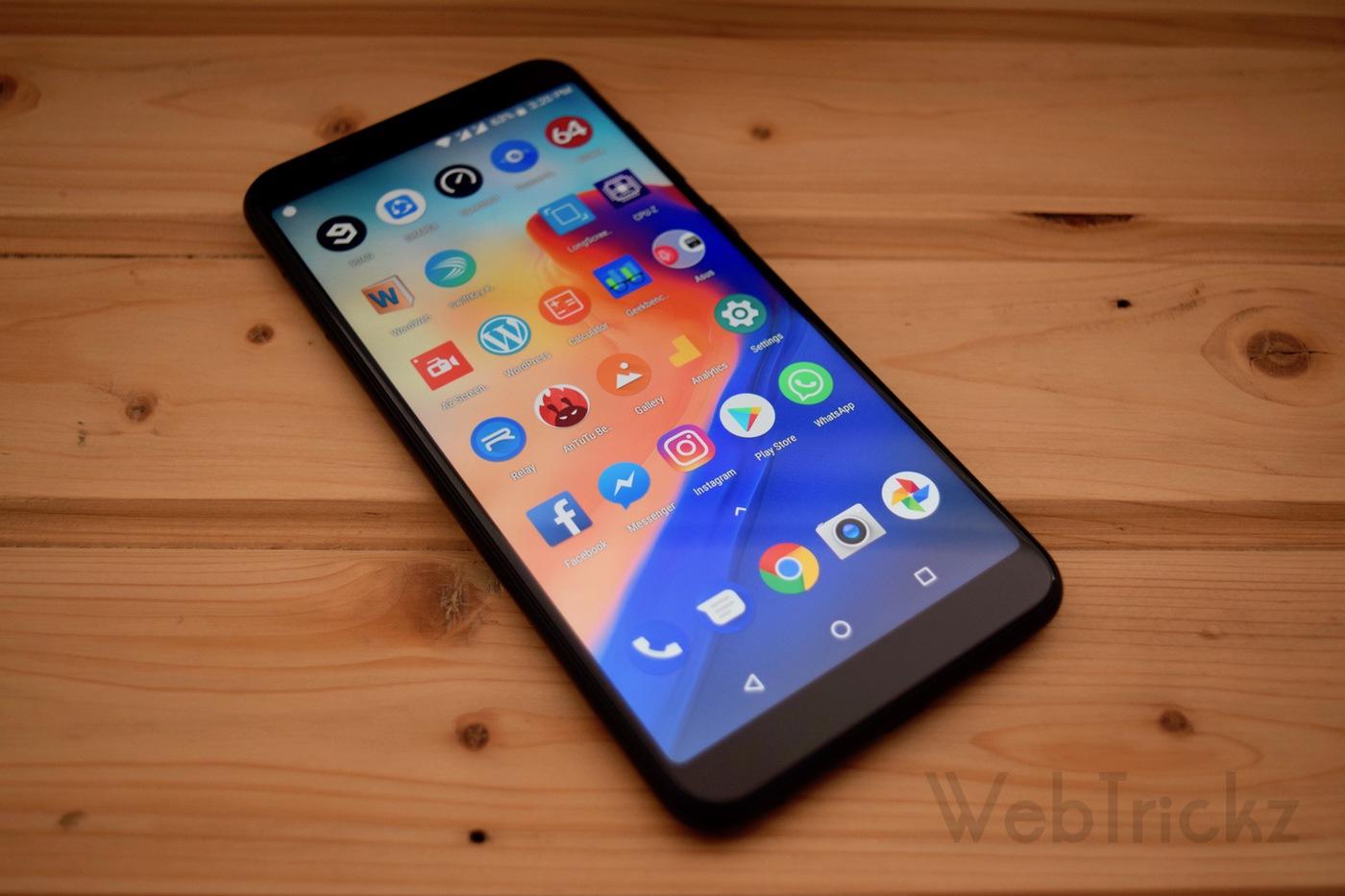 Asus Zenfone Max Pro apps