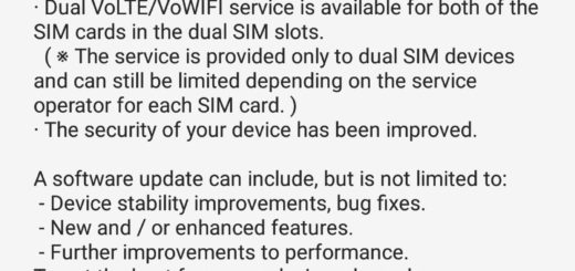 galaxy s9+ dual volte support ota india