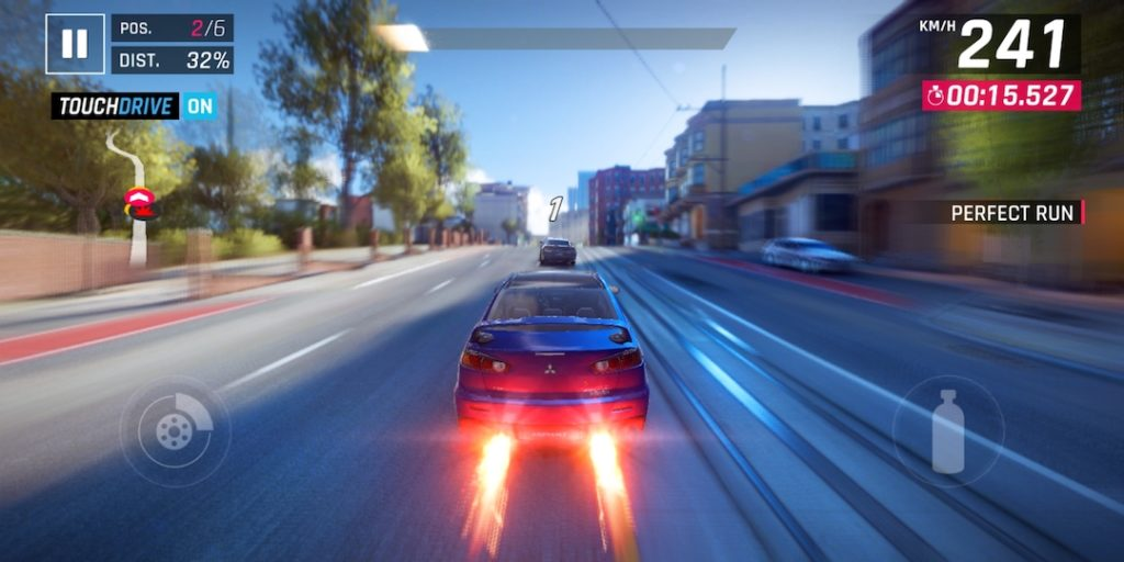 asphalt 9 legends running on android