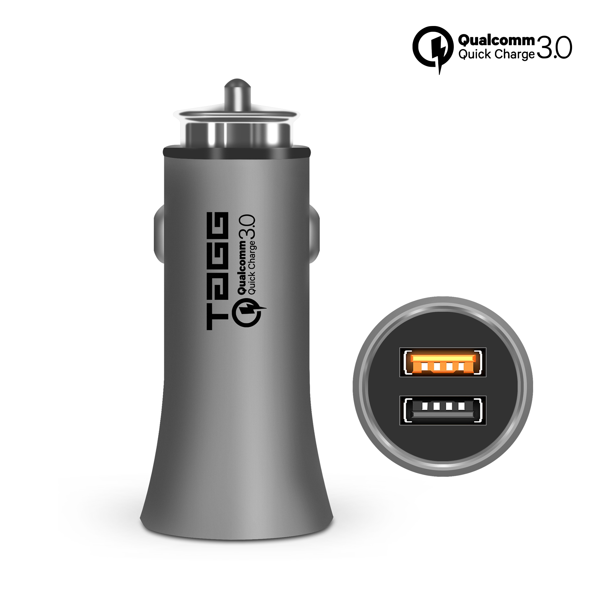 TAGG Roadster Dual USB Car Charger