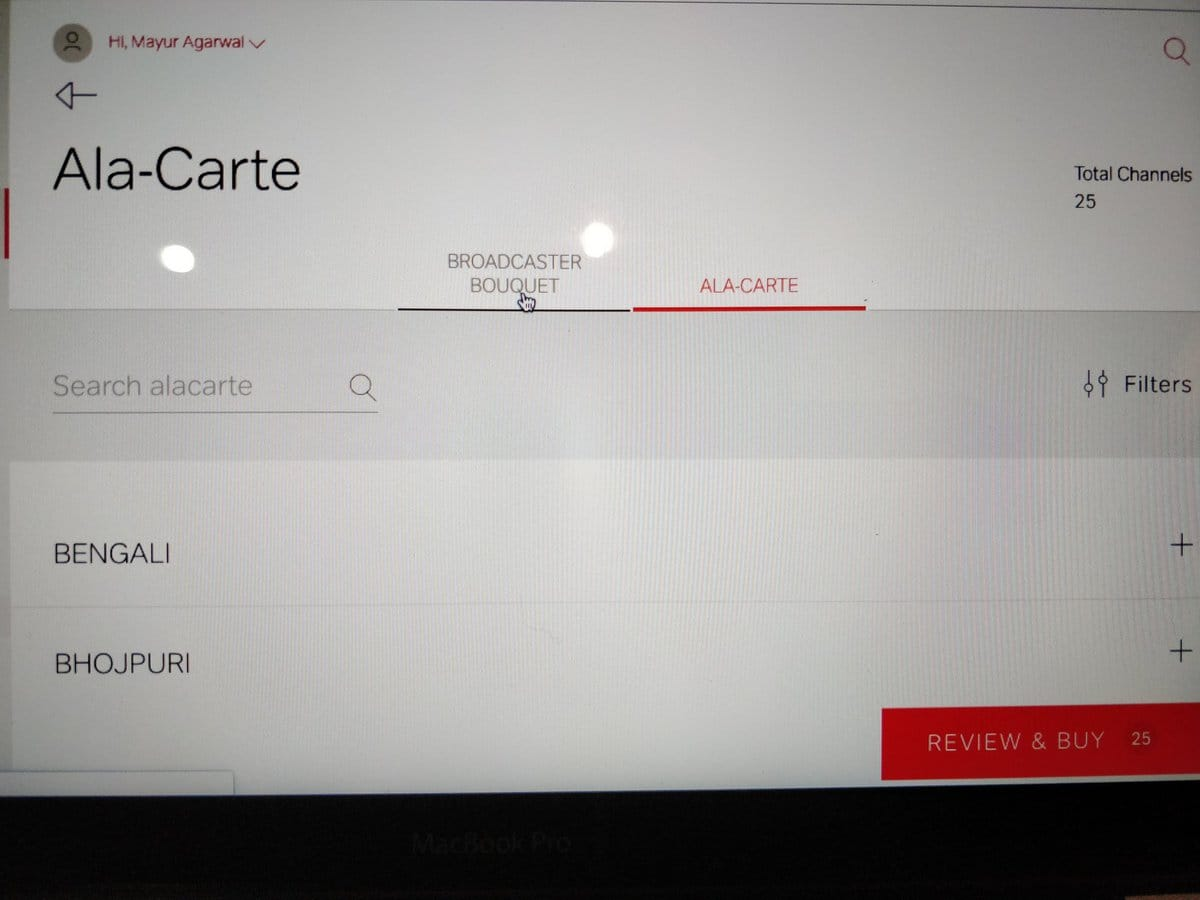 How to Select Channels on Airtel DTH as per TRAI's New Rules