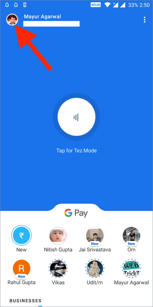 google pay app android