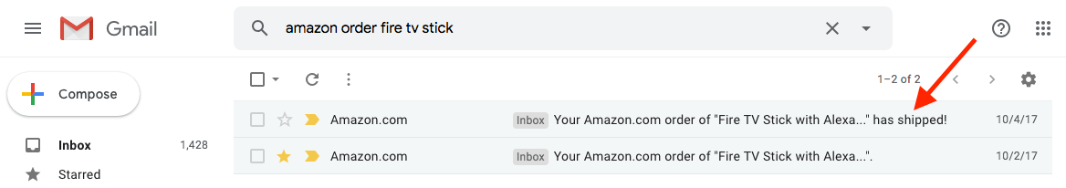amazon orders email