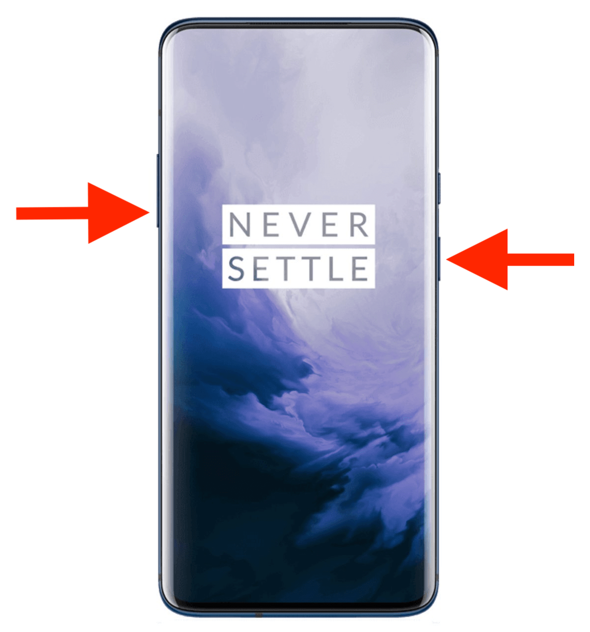 take screenshot on oneplus 7 pro