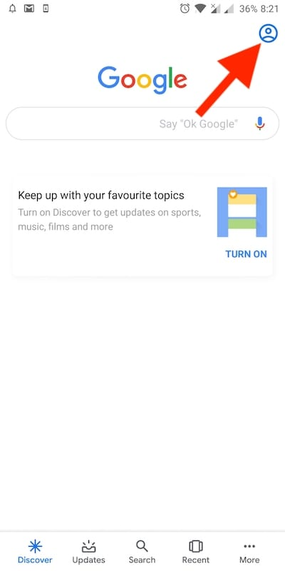 Use without an account' brings Incognito Mode to Google Search App