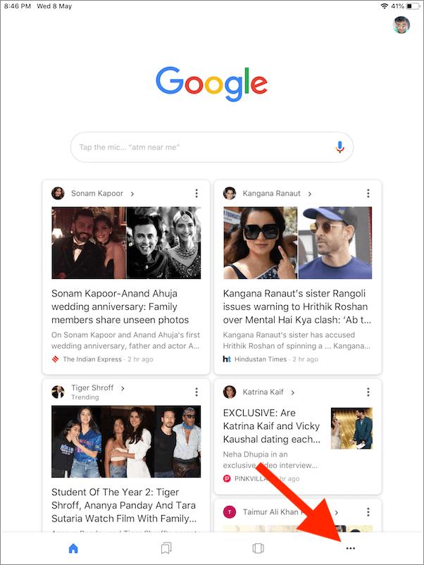 google app for ios