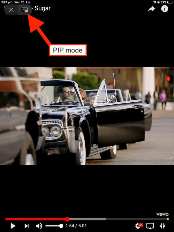 PIP mode