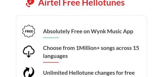 free hello tunes airtel wynk music