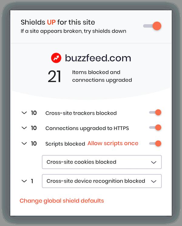 brave browser online safety