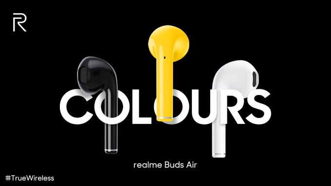realme buds air true wireless earphones