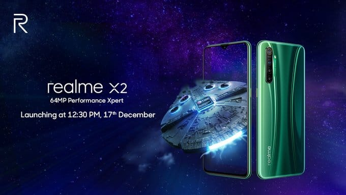 realme x2 launch on flipkart