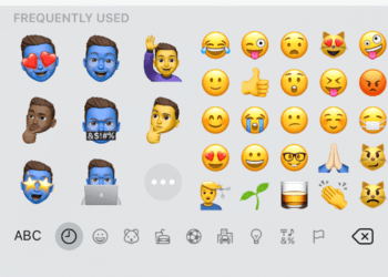 frequently used memoji in ios