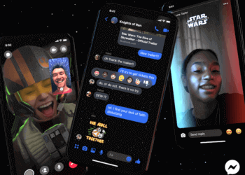 star wars theme in messenger