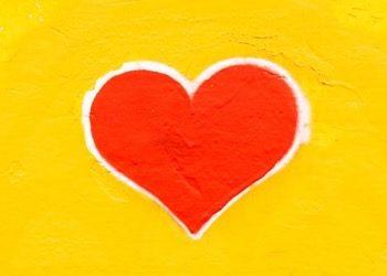red heart by Nicola Fioravanti