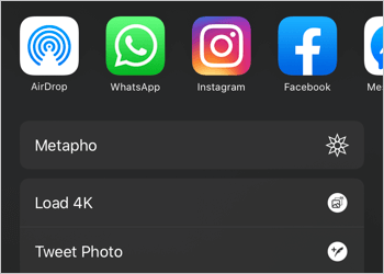 load 4k option in twitter