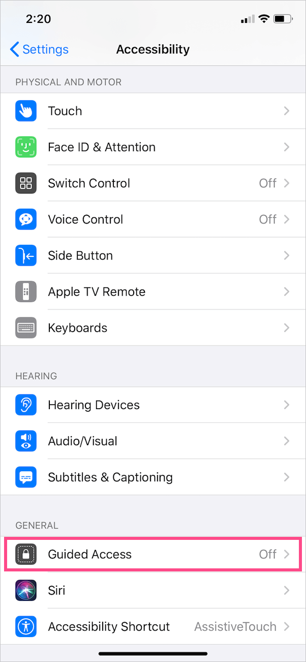 Accessibility in ios