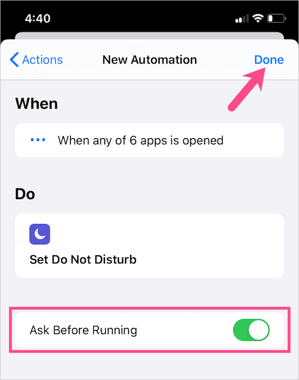How to Disable Notifications While playing games on iPhone