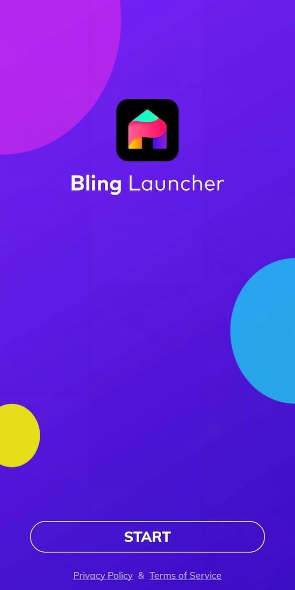 bling launcher app