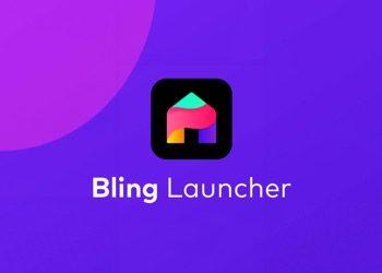bling launcher logo