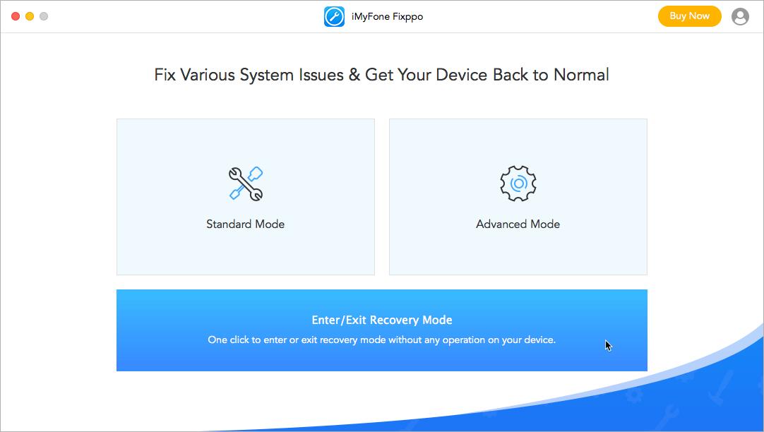 iMyFone Fixppo tool