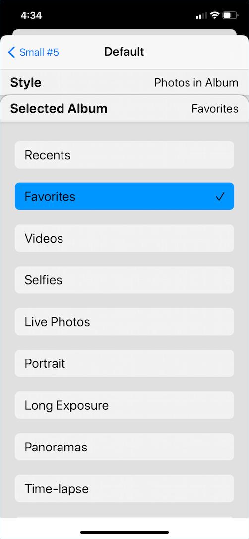 add widget smith photo album widget
