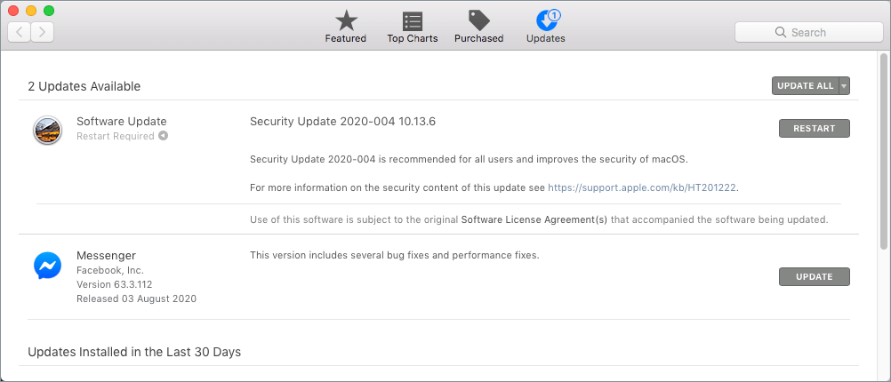 update mac os to latest version