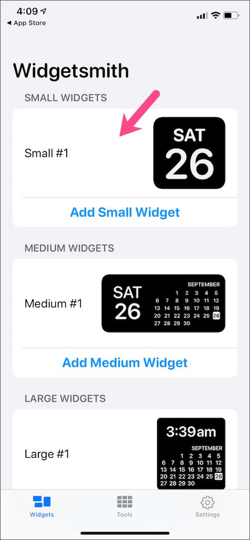 how to create widgetsmith widgets