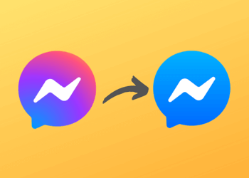 change facebook messenger app icon