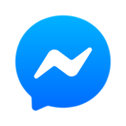 messenger blue ios icon