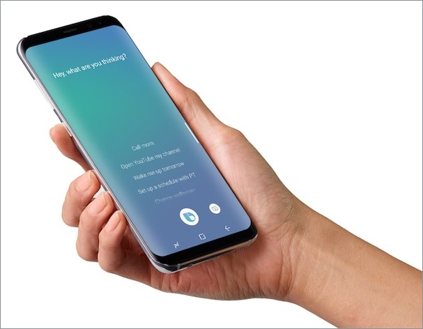 Bixby voice assistant